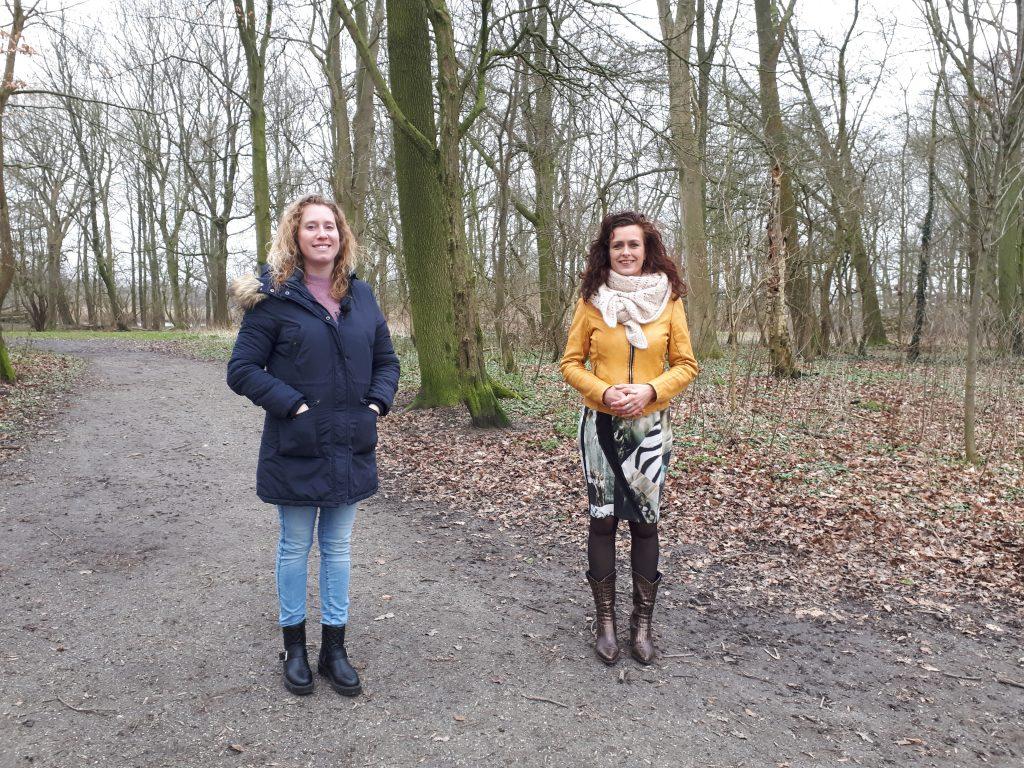 Susanne en Miranda - fan binnenut